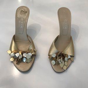 Anne Klein Gold Heels